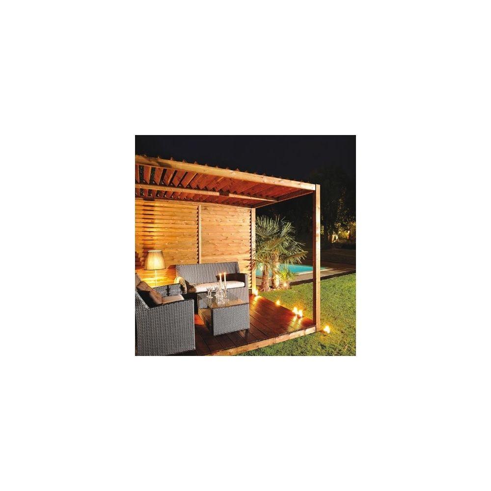 pergola en toile cubik 3 panneaux en bois burger. Black Bedroom Furniture Sets. Home Design Ideas