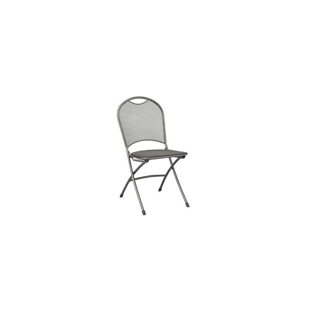 chaise pliante calvia en m tal kettler plantes et jardins. Black Bedroom Furniture Sets. Home Design Ideas