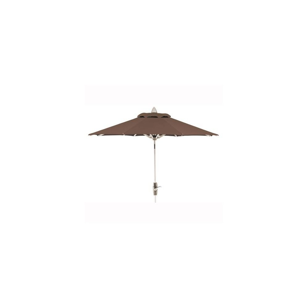 parasol twister avec manivelle 140 x 210 cm mocca kettler plantes et jardins. Black Bedroom Furniture Sets. Home Design Ideas