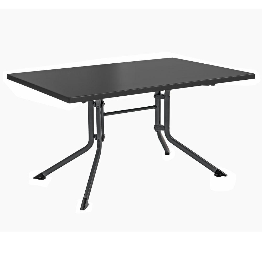 table de jardin pliante r sine kettler l160 l95 cm. Black Bedroom Furniture Sets. Home Design Ideas