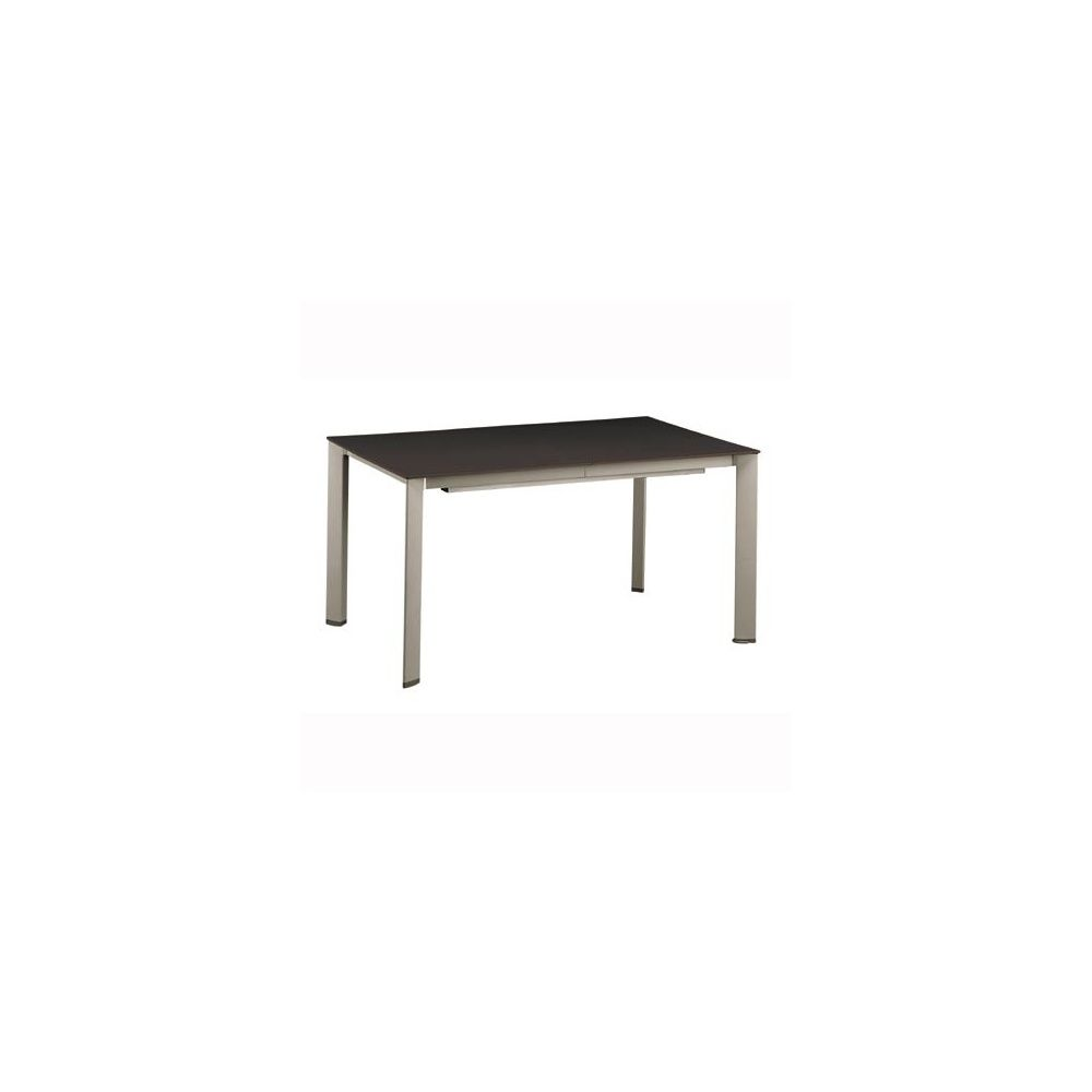 Table extensible loft 160 220 280 x 95 cm mocca for Table extensible 280 cm