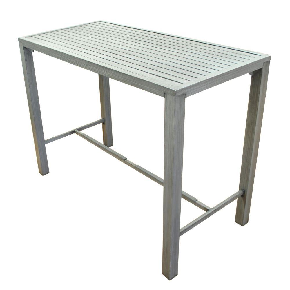 Stunning Table De Jardin Aluminium Ice Gris Ideas - Amazing House ...