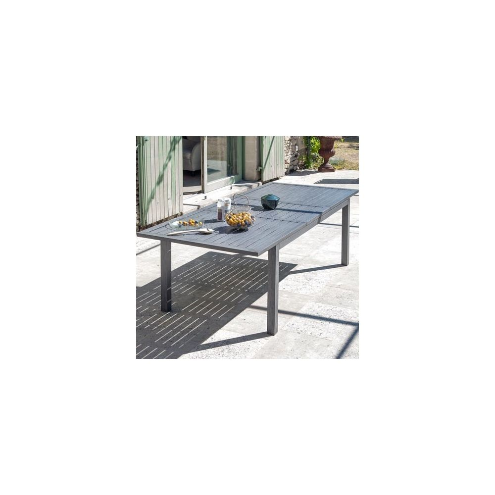 Beautiful Table De Jardin Aluminium Ice Pictures - Awesome Interior ...