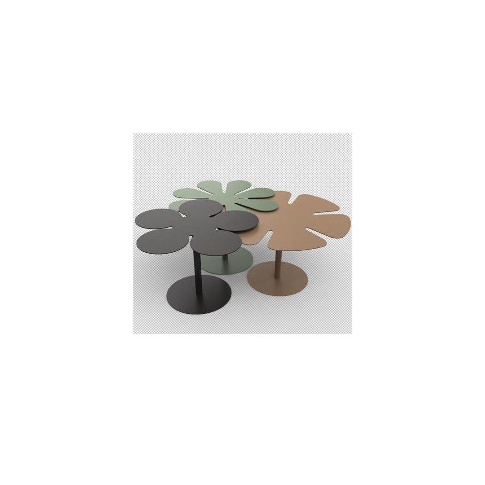 tables basses gigognes bora noir kaki sable. Black Bedroom Furniture Sets. Home Design Ideas