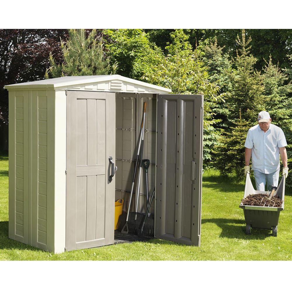 Petit abri de jardin r sine keter m mm sydney 63 plantes et jardins - Abri jardin gamm vert nice ...