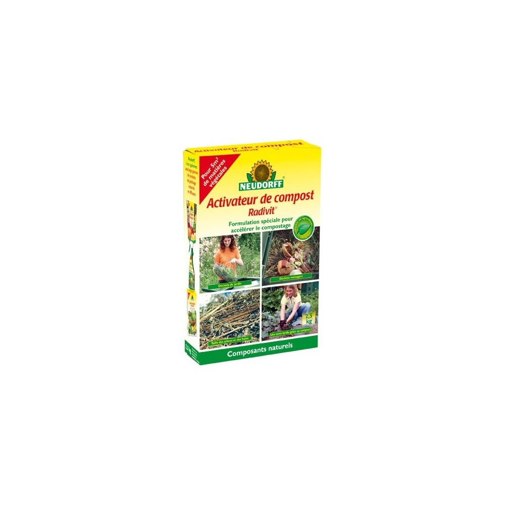 Activateur de compost radivit neudorff plantes et jardins - Activateur de compost ...