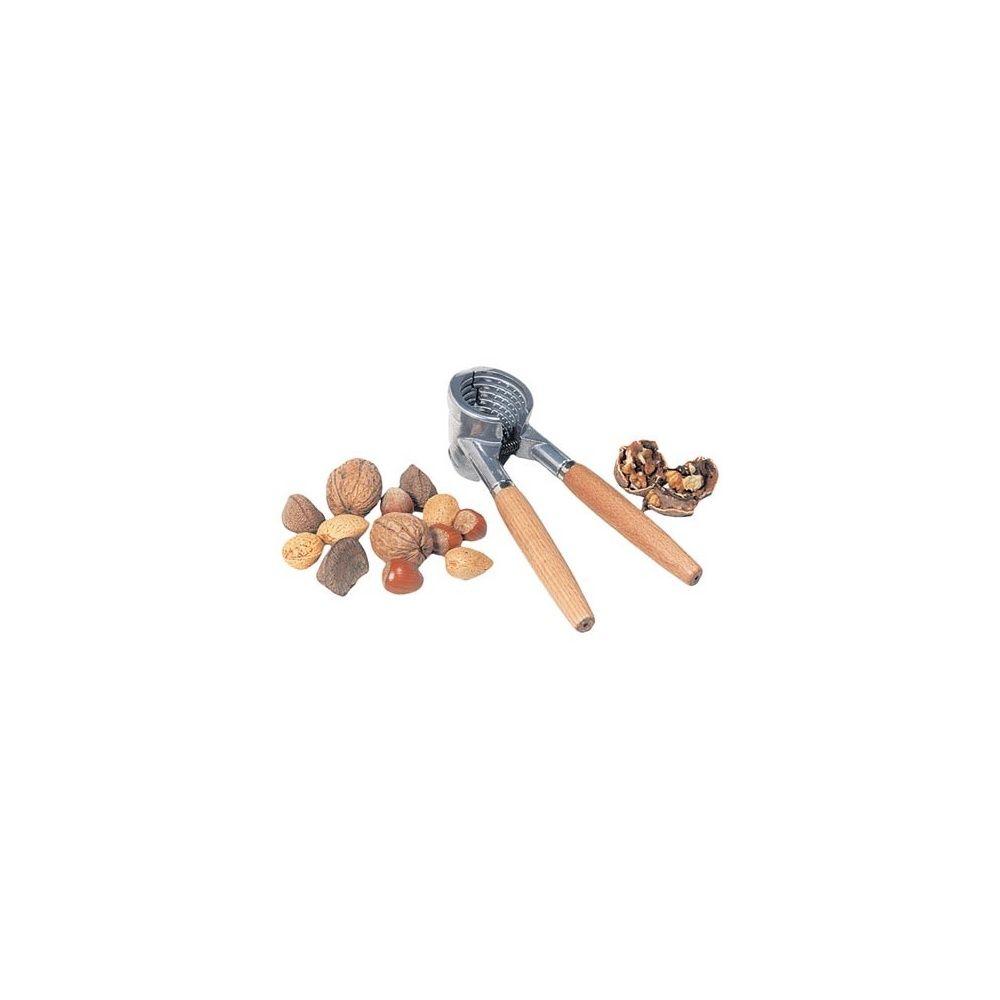 Casse noix en aluminium avec poign es en bois plantes et jardins - Casse noix en bois ...