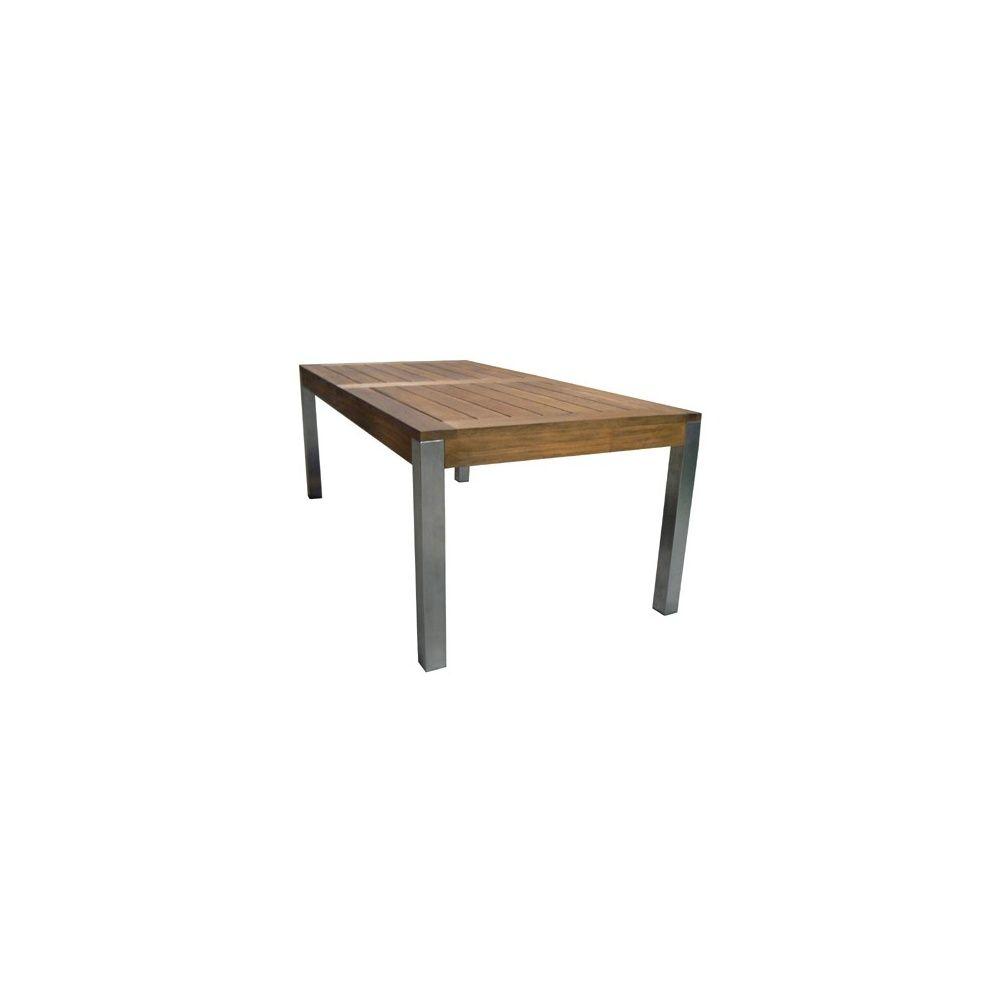 Grand Ilot Central Pas Cher ~ Table Pied Inox Myfrdesign Co