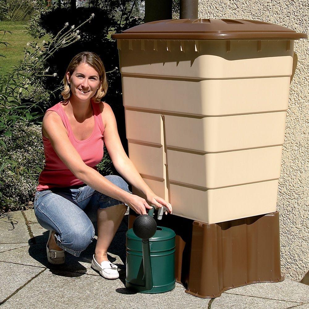 r cup rateur d 39 eau rectangulaire sable 300l garantia plantes et jardins. Black Bedroom Furniture Sets. Home Design Ideas