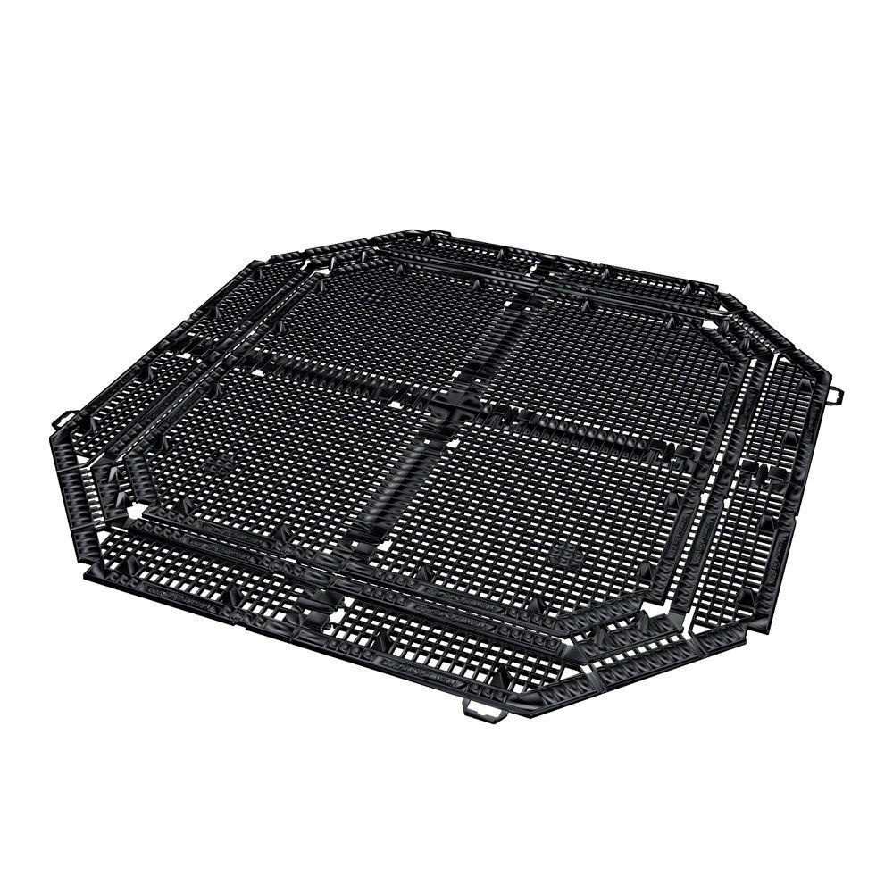 grille de protection anti nuisibles noir 400l garantia plantes et jardins. Black Bedroom Furniture Sets. Home Design Ideas