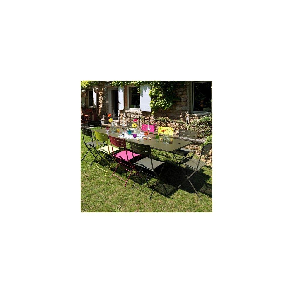 Salon table deauville family savane 4 chaises slim - Salon de the deauville ...