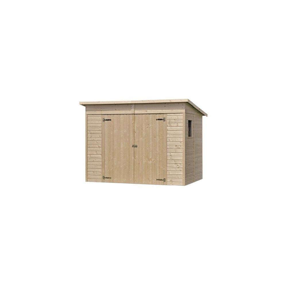 abri de jardin onno m hors tout bois 13 mm avec plancher plantes et jardins. Black Bedroom Furniture Sets. Home Design Ideas