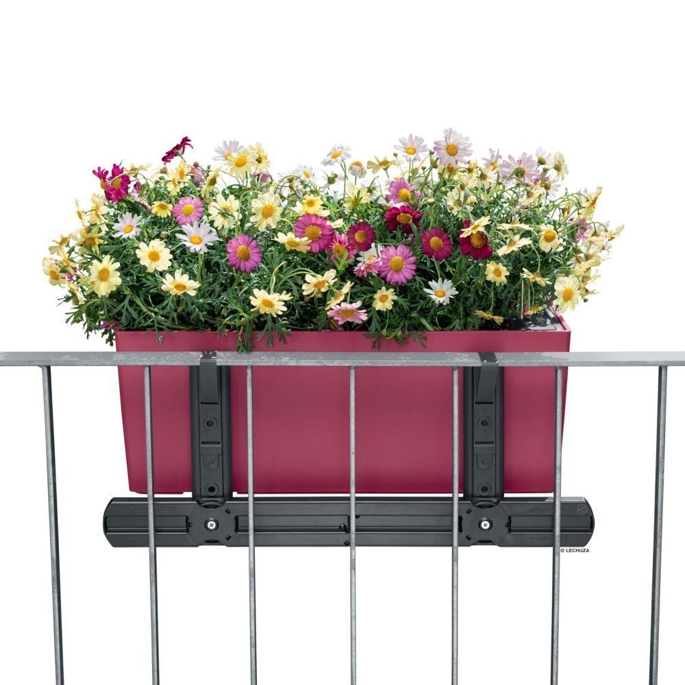 jardini re lechuza balconera cottage l50 h19 cm gris. Black Bedroom Furniture Sets. Home Design Ideas