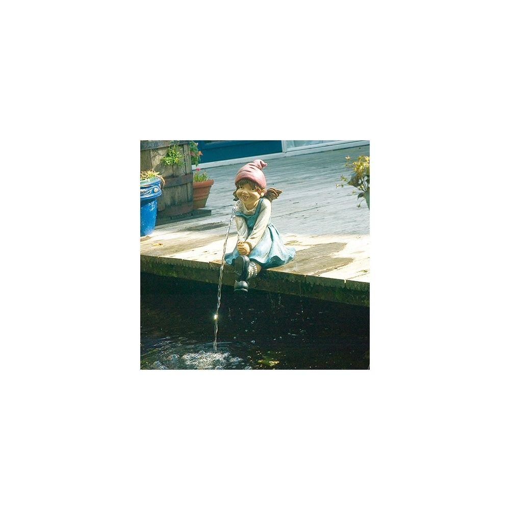 Fillette pour d coration bassin ubbink plantes et jardins for Achat plante bassin
