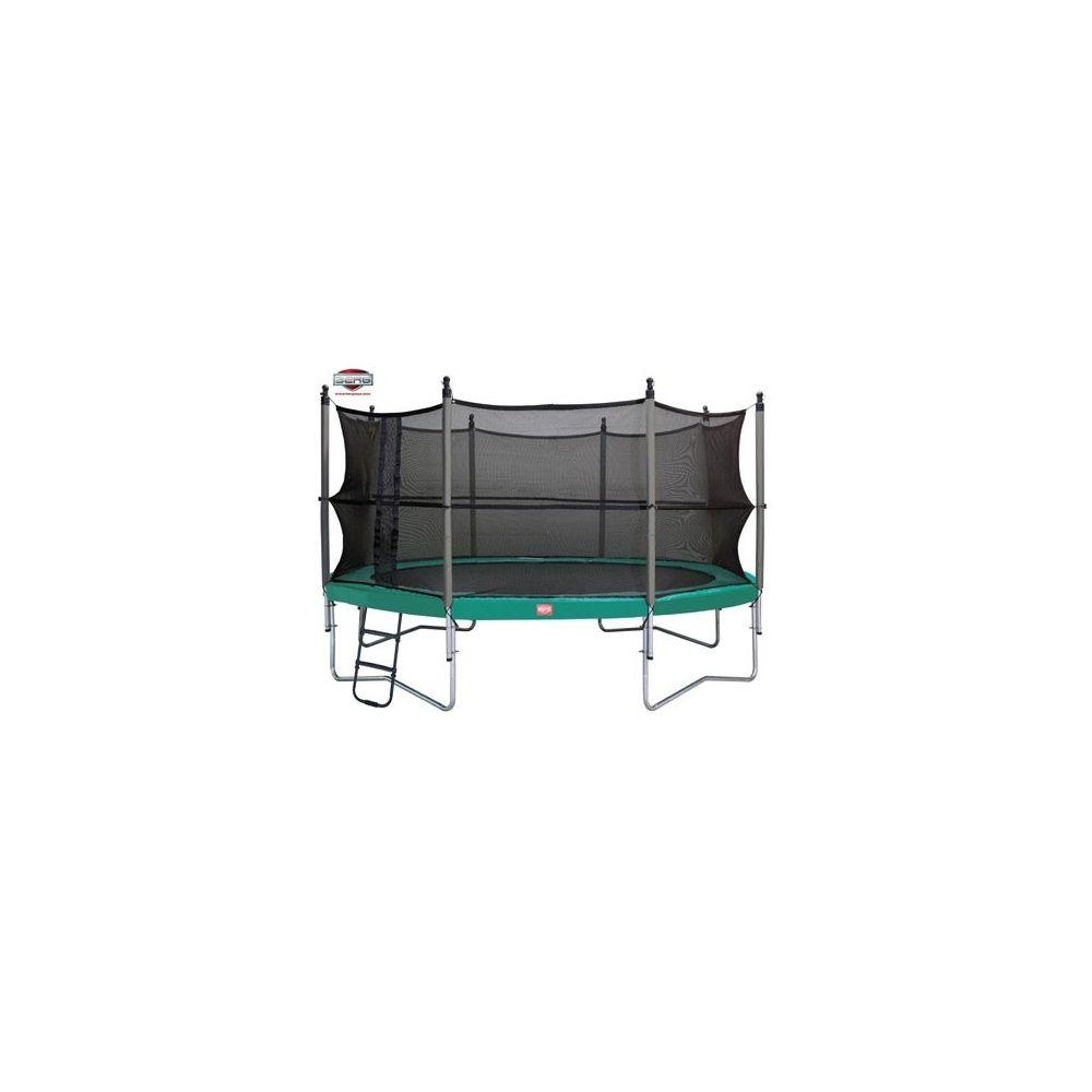 trampoline berg favorit 380 filet de protection bergtoys plantes et jardins. Black Bedroom Furniture Sets. Home Design Ideas