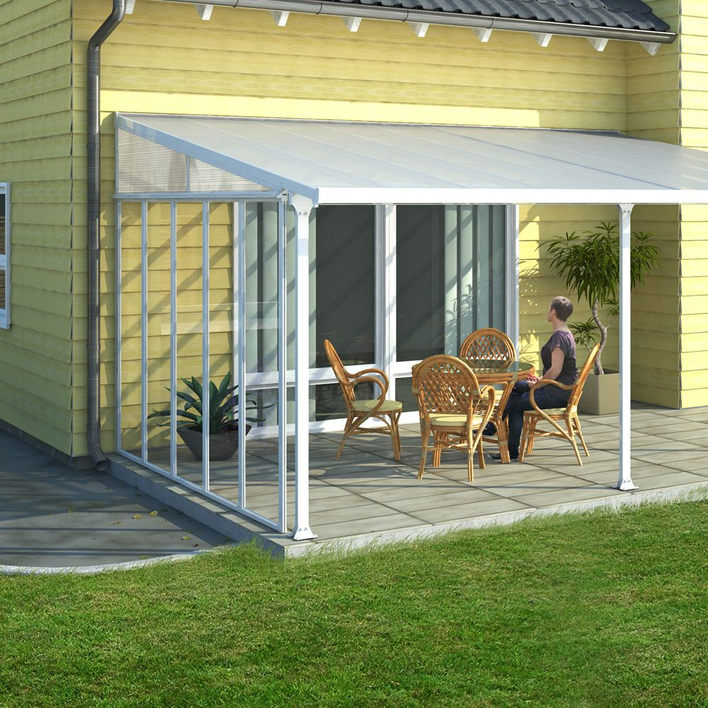 panneau lat ral pour toit terrasse aurore avanc e 3 m. Black Bedroom Furniture Sets. Home Design Ideas