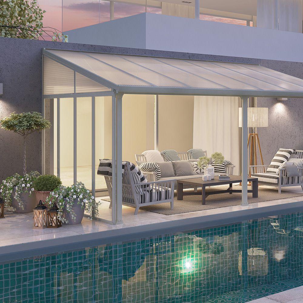 panneau lat ral pour toit terrasse aurore avanc e 3 m plantes et jardins. Black Bedroom Furniture Sets. Home Design Ideas