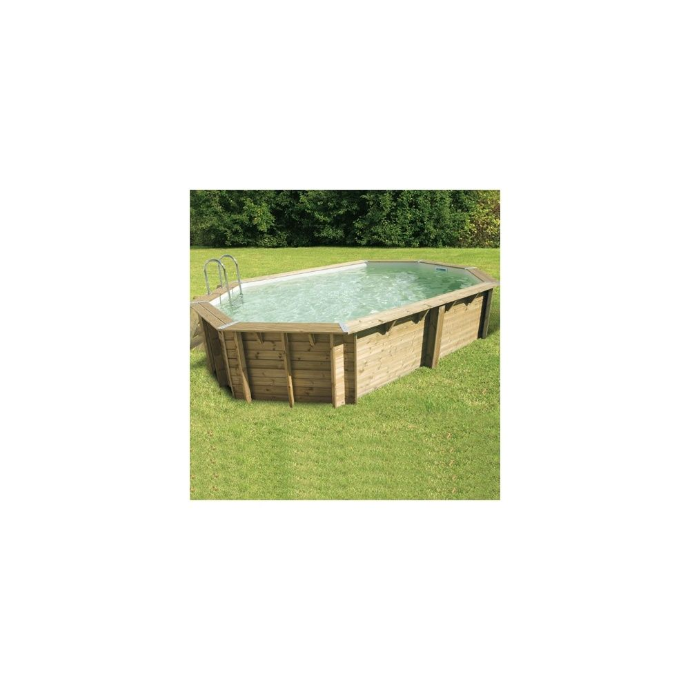 Piscine rectangulaire ocea pin du nord 400 x 610 x for Liner piscine rectangulaire