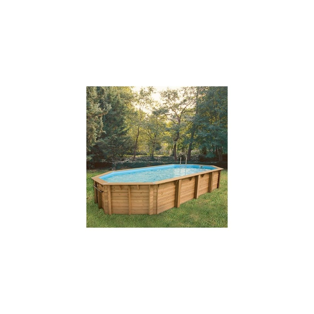 Piscine rectangulaire ocea pin du nord 470 x 860 x for Liner piscine rectangulaire