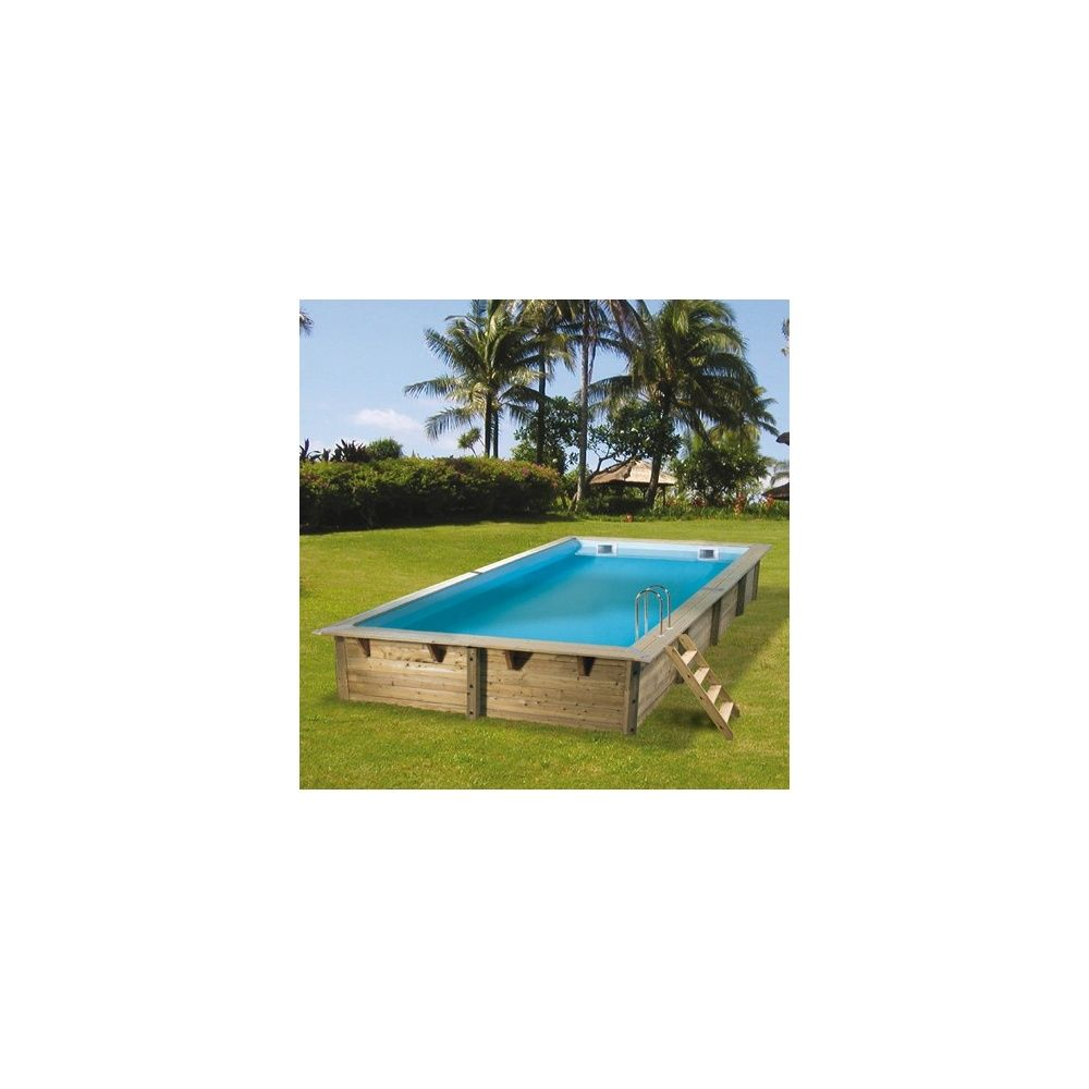Piscine rectangulaire linea pin du nord 350 x 650 x for Liner piscine rectangulaire
