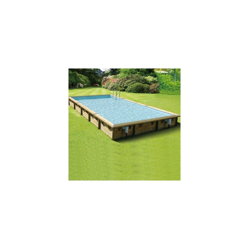 Piscine rectangulaire linea pin du nord 500 x 800 x for Liner piscine rectangulaire