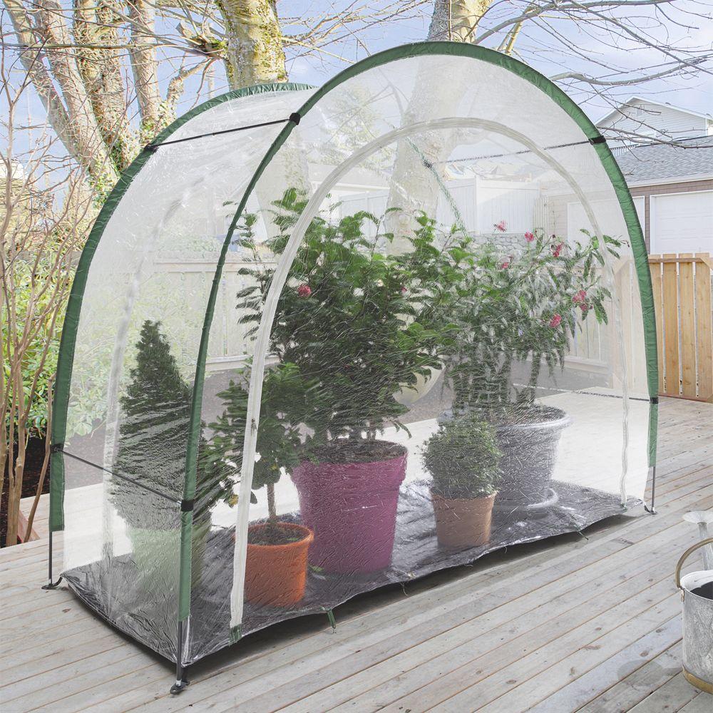 serre de balcon ou terrasse maxigreen hivernage m nortene plantes et jardins. Black Bedroom Furniture Sets. Home Design Ideas