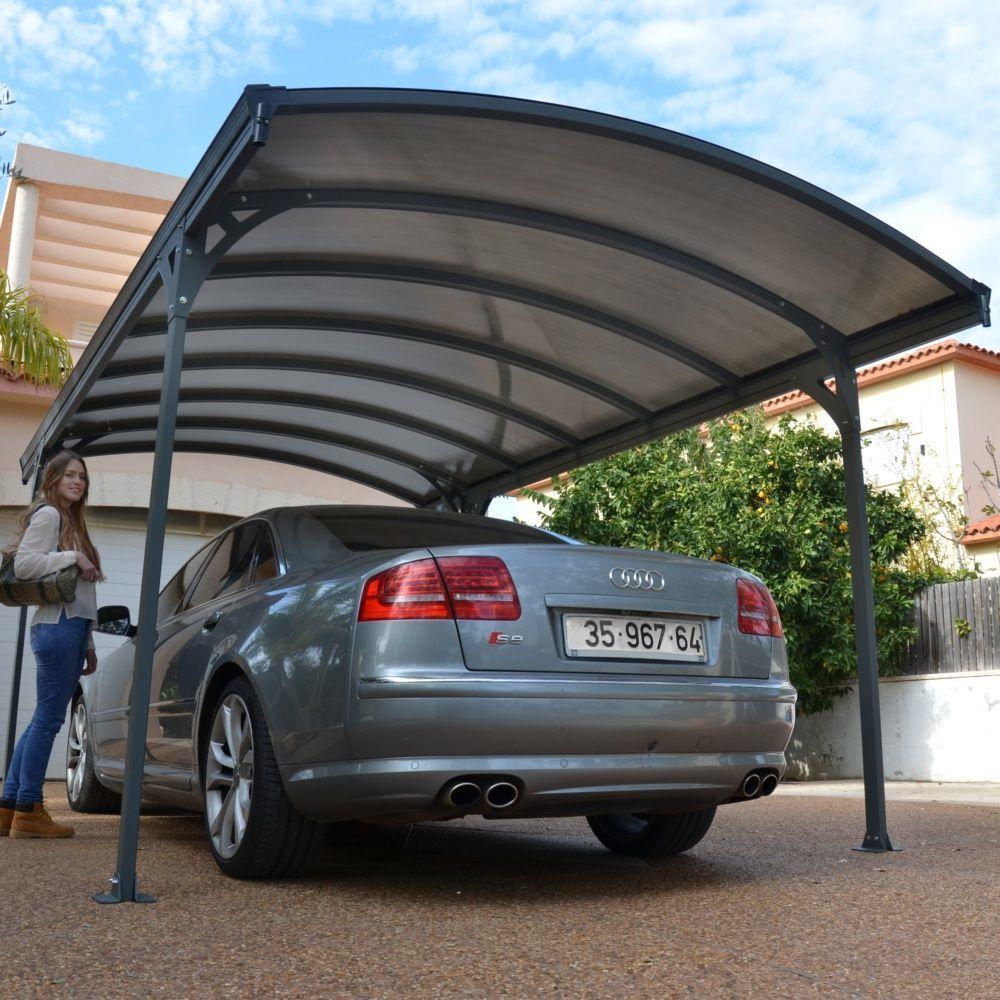 carport delage 5000 en aluminium m plantes et jardins. Black Bedroom Furniture Sets. Home Design Ideas