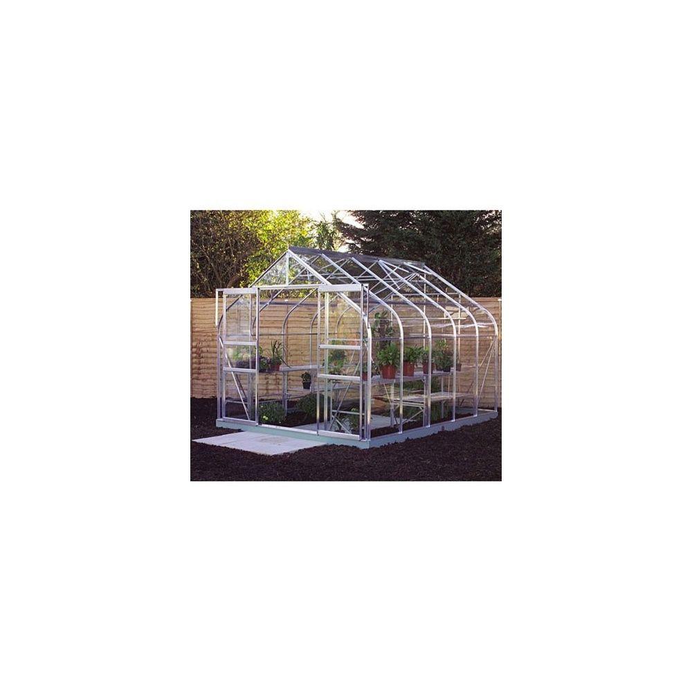 serre en verre tremp supreme aluminium halls plantes et jardins. Black Bedroom Furniture Sets. Home Design Ideas