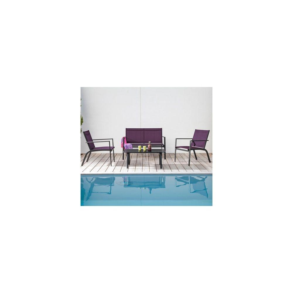 salon bas sartene 2 fauteuils 1 canap table basse