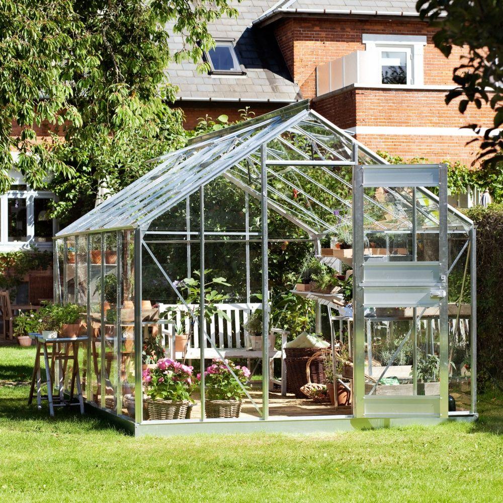 serre de jardin compact plus polycarbonate juliana plantes et jardins. Black Bedroom Furniture Sets. Home Design Ideas