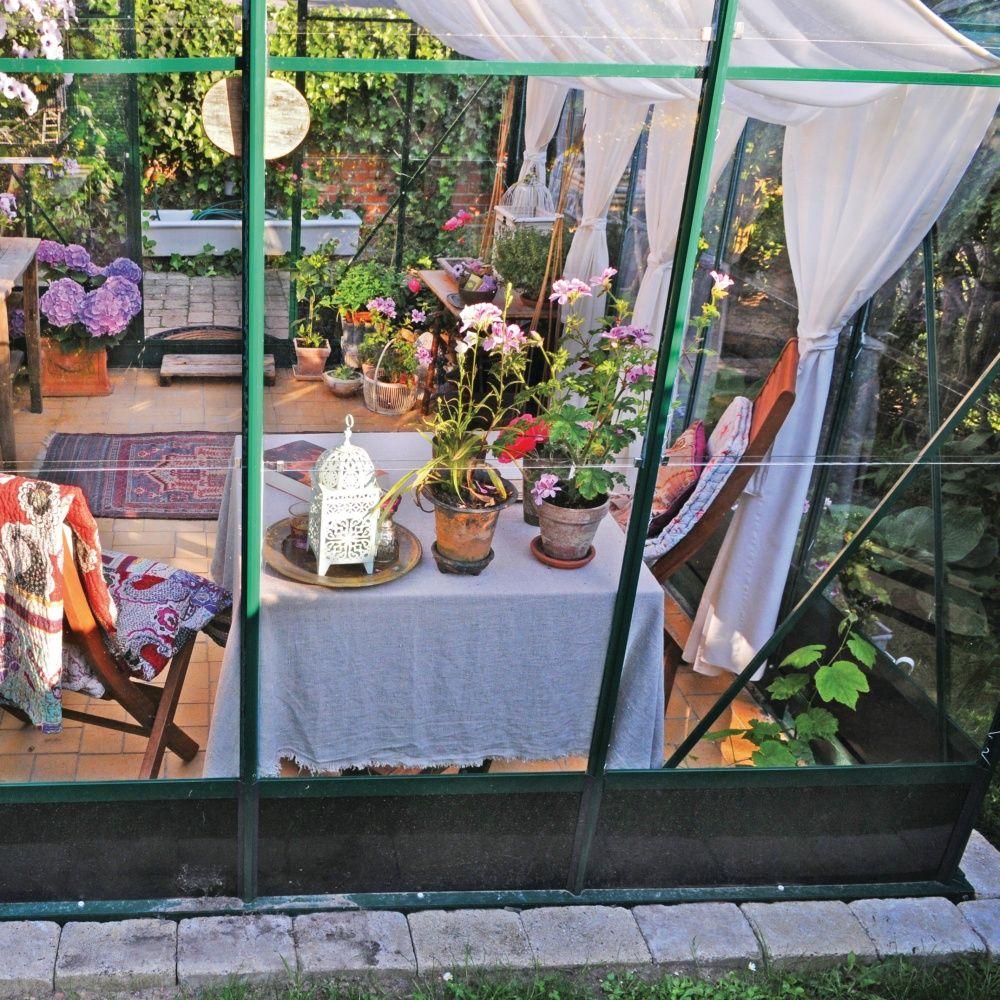 Serre De Jardin Compact Plus Polycarbonate 12.10m²