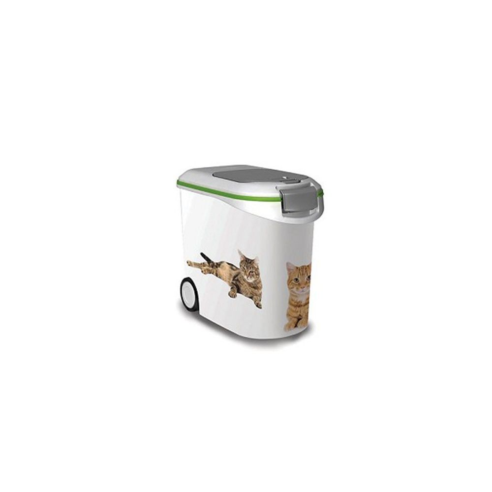 conteneur croquettes 12 kg pour chats curver plantes et jardins. Black Bedroom Furniture Sets. Home Design Ideas