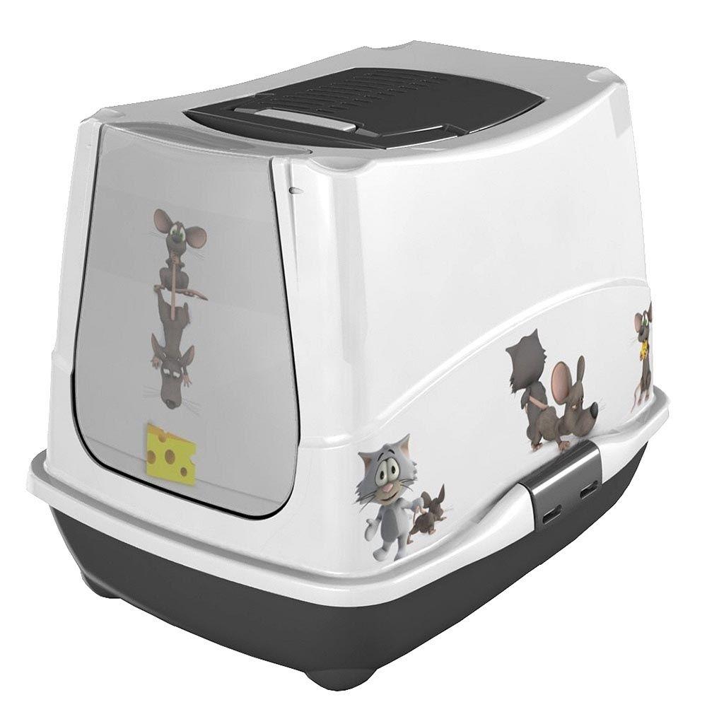 maison de toilette pour chat cat mice anka plantes. Black Bedroom Furniture Sets. Home Design Ideas