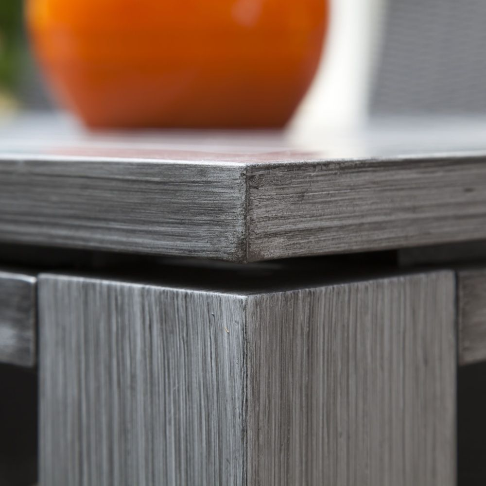 Stunning Table De Jardin Aluminium Ice Gris Ideas - Awesome ...