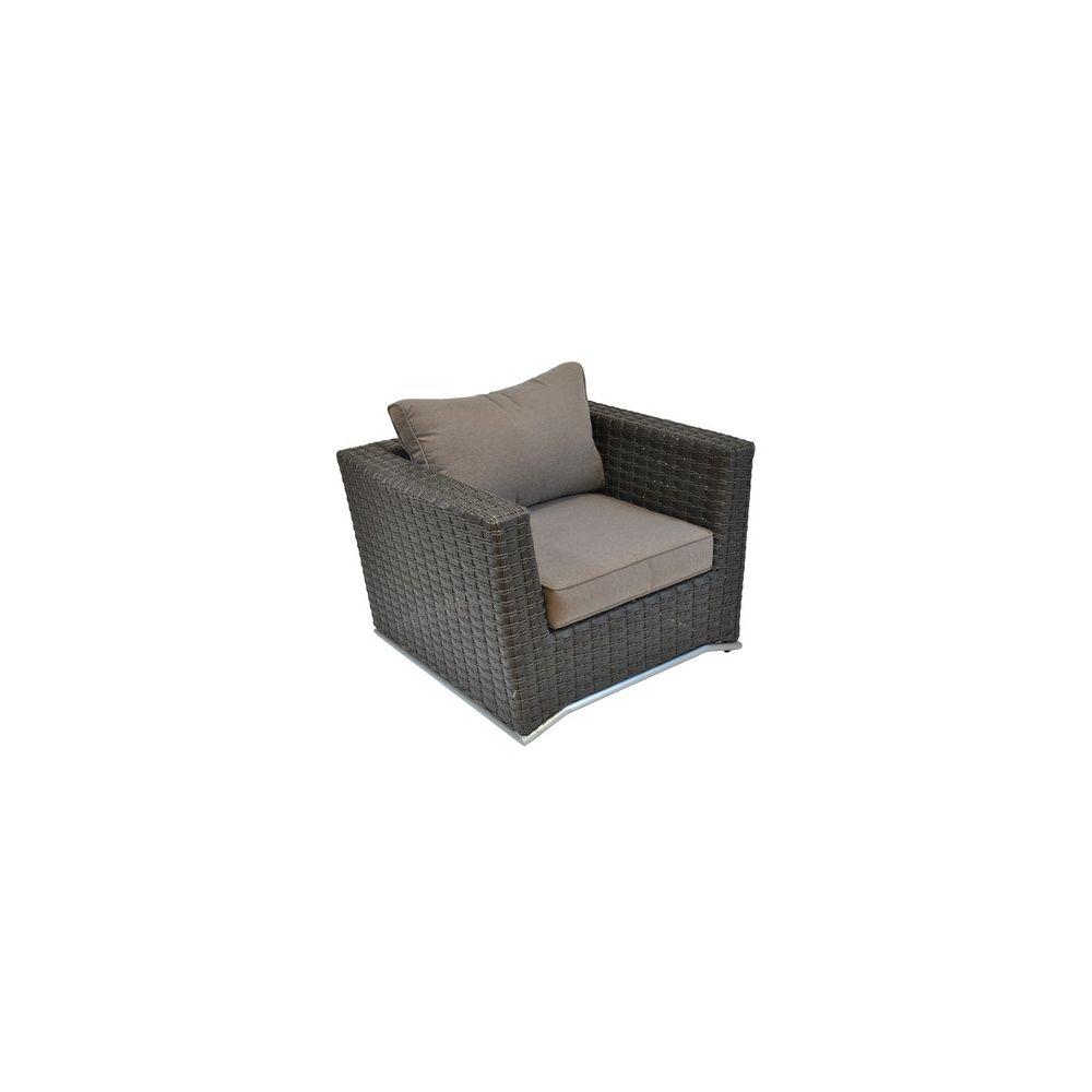 fauteuil nuoro r sine tress e chocolat plantes et jardins. Black Bedroom Furniture Sets. Home Design Ideas