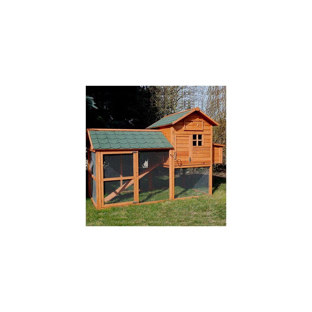 poulailler house 4 5 poules plantes et jardins. Black Bedroom Furniture Sets. Home Design Ideas