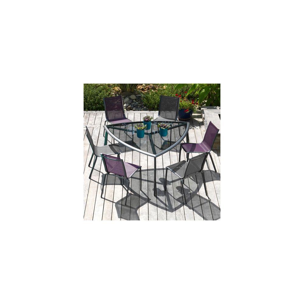 Salon de jardin gamm vert montpellier 12 - Table de jardin metal montpellier ...