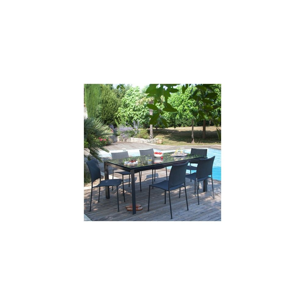 Table pliante bois gamm vert for Dessin de table de jardin