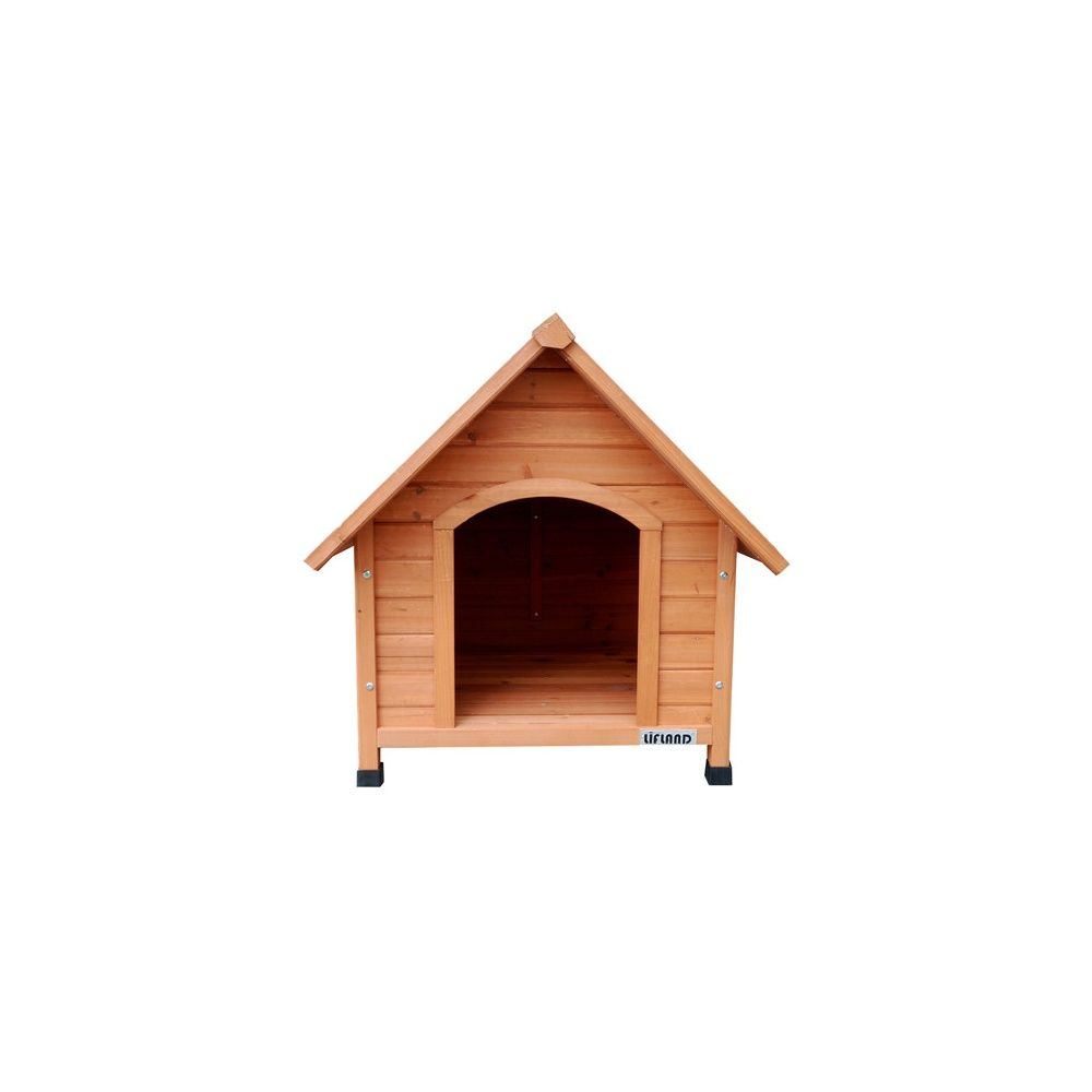niche pour chien en bois lifland large plantes et jardins. Black Bedroom Furniture Sets. Home Design Ideas