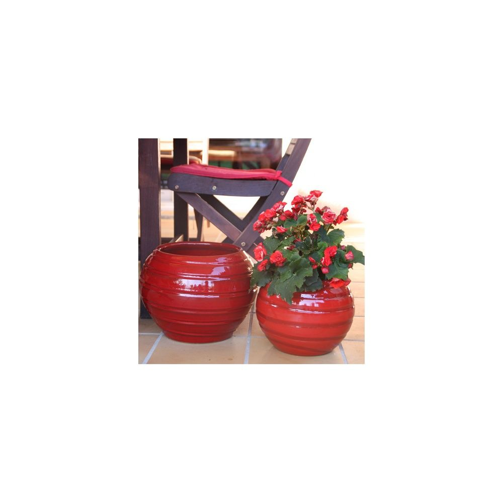 pot en terre cuite maill e les maldives bois de santal d24 h25 plantes et jardins. Black Bedroom Furniture Sets. Home Design Ideas