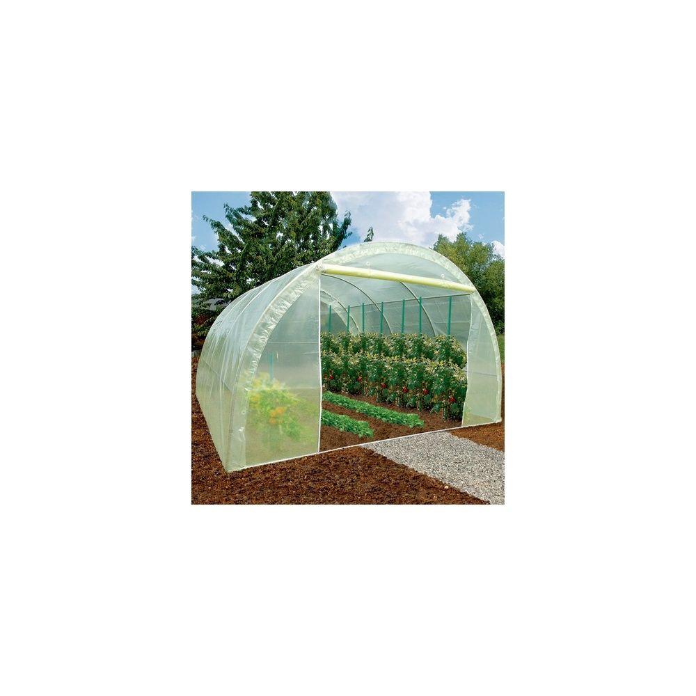 serre tunnel armature renforc e 13m nort ne plantes et jardins. Black Bedroom Furniture Sets. Home Design Ideas