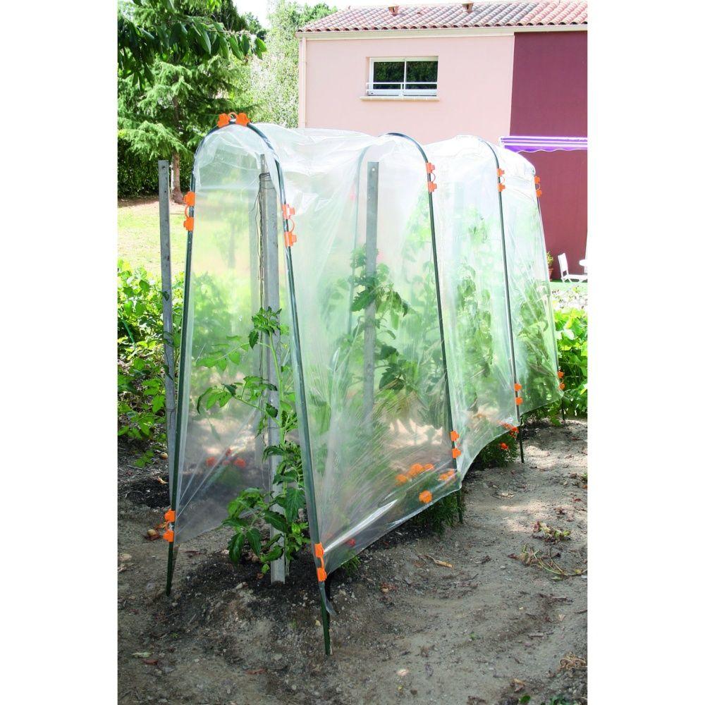 Tomato film tunnel 3x3 5m nortene plantes et jardins for Bache pour bassin exterieur gamm vert