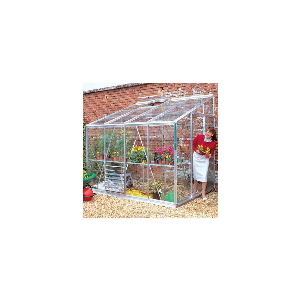 Serre de jardin royal en verre horticole 3mm d 39 paisseur for Jardin royal