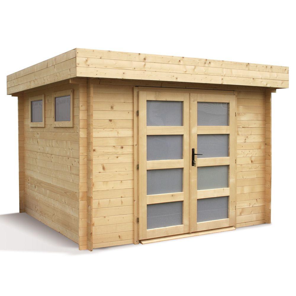 Emejing abri de jardin en bois destockage ideas design for Abri de jardin