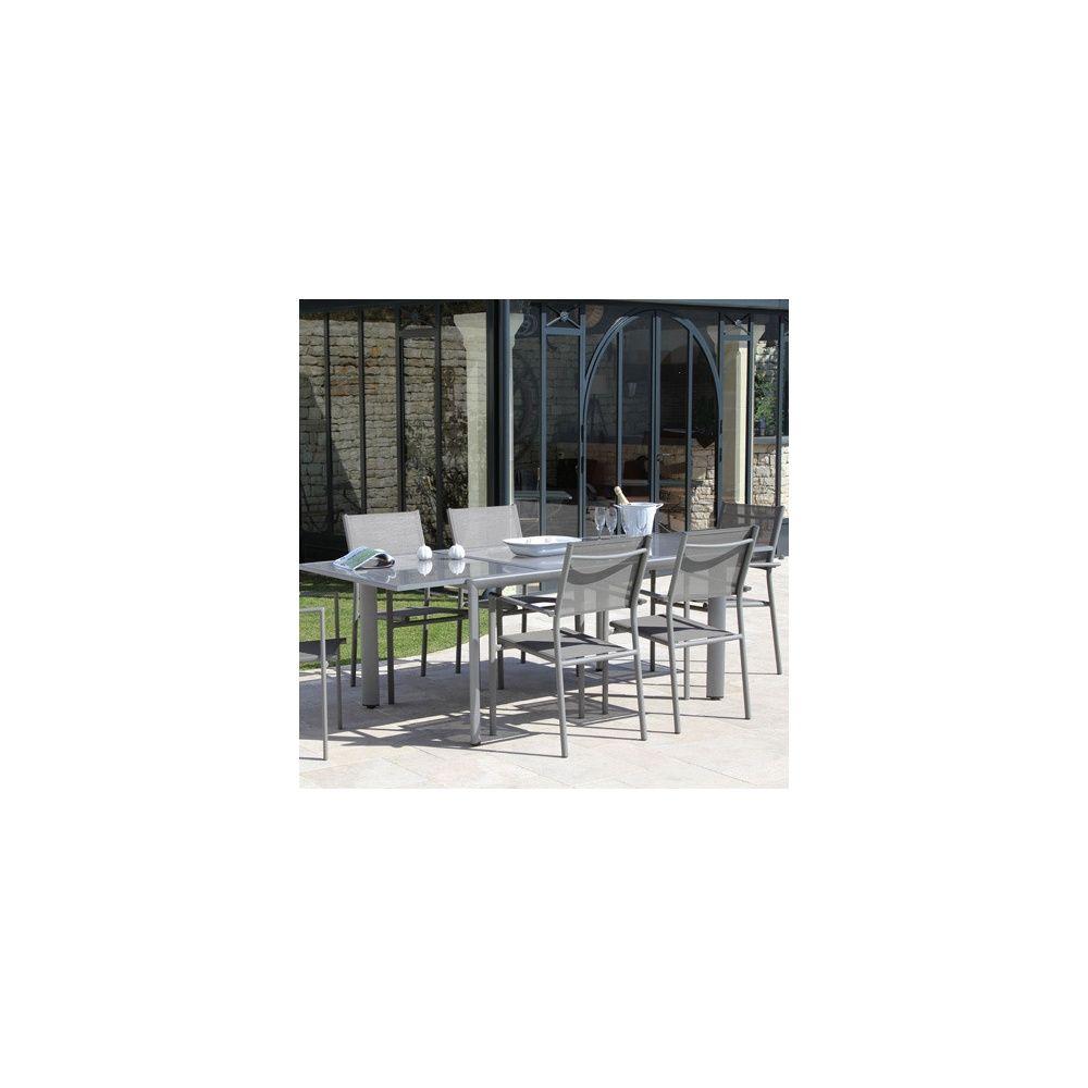 Stunning Salon De Jardin Aluminium Messina Photos - Amazing House ...