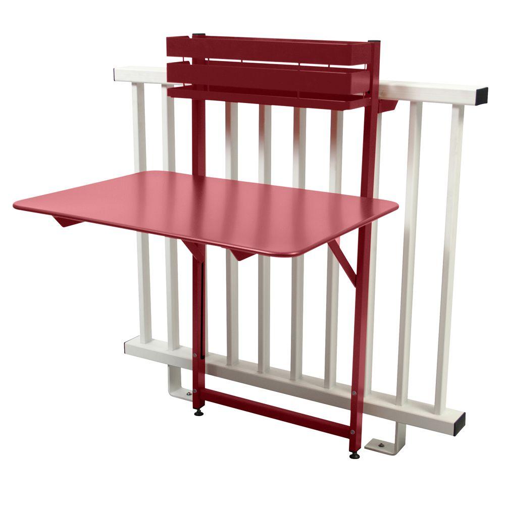 Salon de balcon fermob bistro 1 table pliante 2 - Table pliante 4 chaises ...