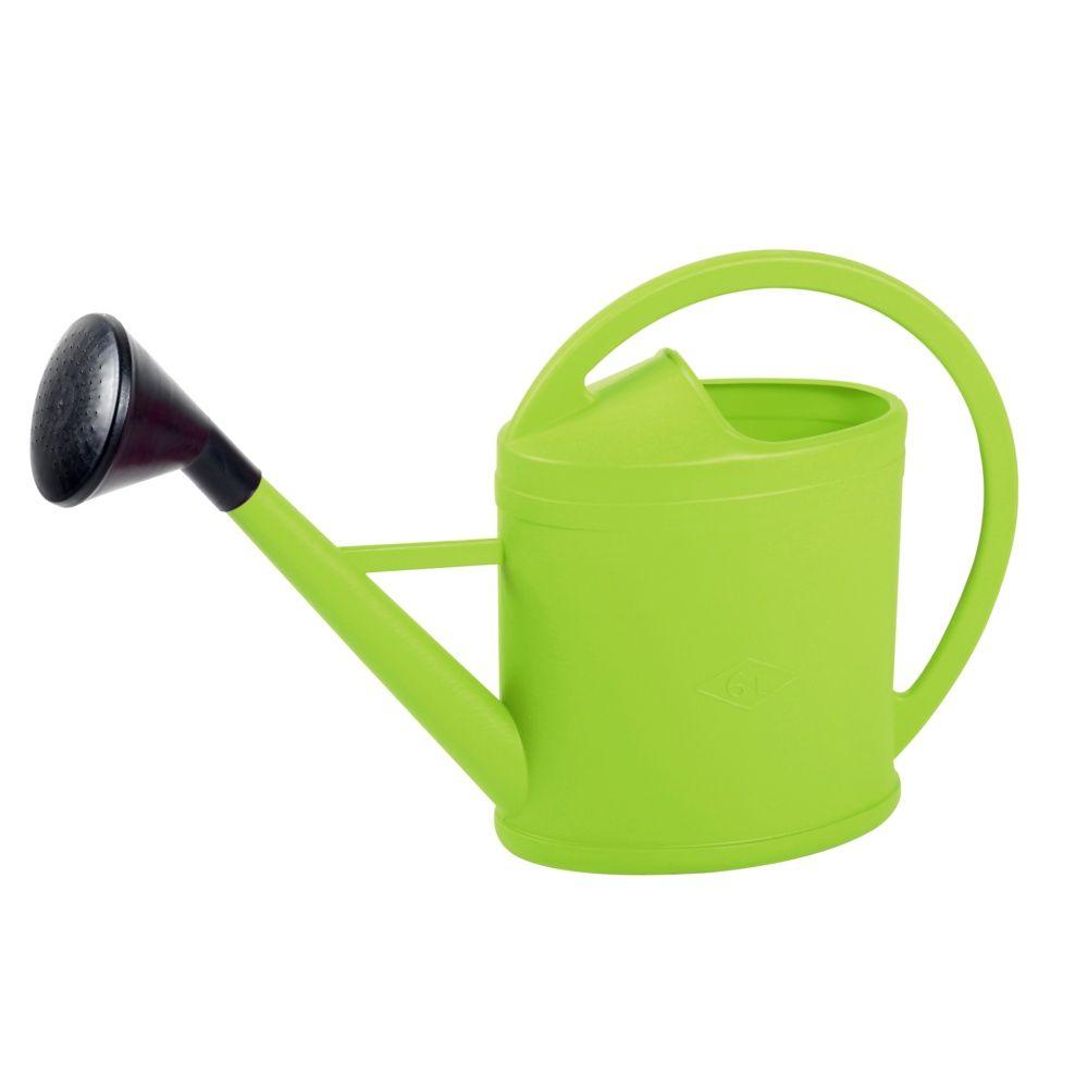 arrosoir parisien vert 6l avec pomme eda plastique. Black Bedroom Furniture Sets. Home Design Ideas