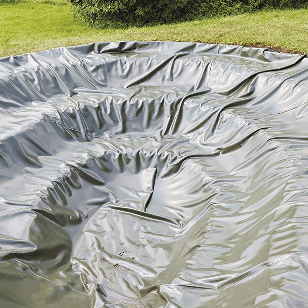 B che de bassin pvc pr d coup e 6x6 m alfafol oase for Bache en pvc pour bassin