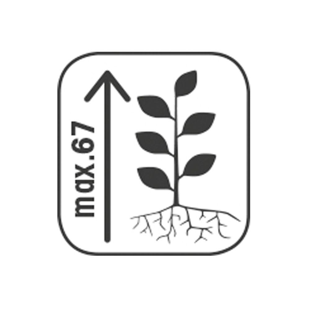 bac fleurs avec treillis bois trait l80 h1355 cm lierre plantes et jardins