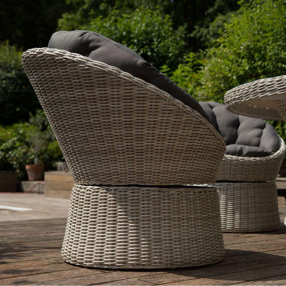Salon de jardin r sine kettler barcelona 6 fauteuils 1 for Barcelona jardin
